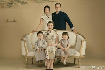 资讯生活马雅舒晒全家福 甜蜜发文-幸福就是有宠你的老公